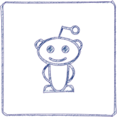 Handdrawn Reddit Icon