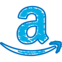 Quirky Hand-Drawn Amazon Icon
