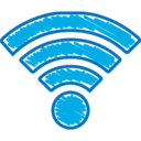 Quirky Hand-Drawn Wifi Icon