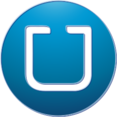 Uber Social Media Button Icon