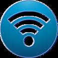Wifi Social Media Button Icon