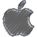 Charcoal-Style Mac Icon
