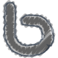 Charcoal-Style Bing Icon