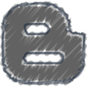 Charcoal-Style Blogger Icon