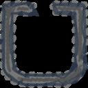 Charcoal-Style Uber Icon