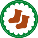 Christmas Stockings Stamp Icon