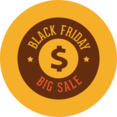 Colorful Black Friday Icon