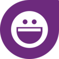Happy Face Social Media Icon