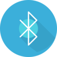 Flat Bluetooth Icon
