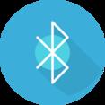 Flat Bluetooth Icon