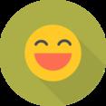 Flat Emoji Icon