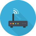 Flat Router Icon