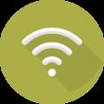 Flat Wifi Icon