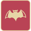 Flat Bat Icon