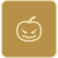 Flat Pumpkin Icon