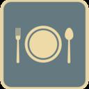 Flat Cutlery Icon