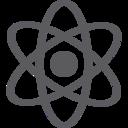 Glyph Atom Icon