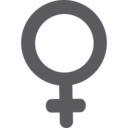 Glyph Female Icon