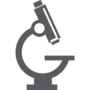 Glyph Microscope Icon