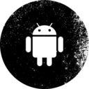 Android Grunge Style Icon