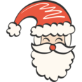 Santa Doodle Icon