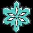 Christmas Snowflake Doodle Icon