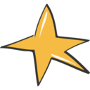 Star Doodle Icon