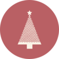 Diamond Christmas Tree Icon
