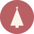 Triangle Christmas Tree Icon
