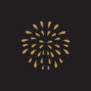 Happy New Year Fireworks Icon