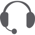Glyph Headset Icon