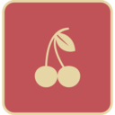 Flat Cherries Icon