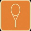 Flat Racket Icon