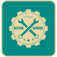 Flat Repair Services Icon