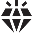 Glyph Diamond Icon