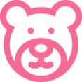 Outline Teddy Bear Icon