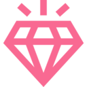 Outline Diamond Icon
