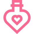 Outline Love Potion Icon