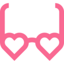 Outline Glasses Icon