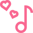 Outline Music Note Icon