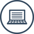 Laptop SEO Icon
