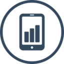 Mobile Analytics SEO Icon