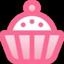 Filled Cupcake Icon