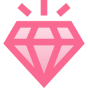 Filled Diamond Icon