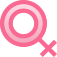 Filled Female Icon