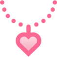 Filled Necklace Icon