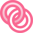 Filled Rings Icon