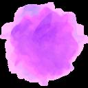 Watercolor Dropbox Social Media Icon