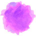 Watercolor Etsy Social Media Icon