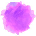 Watercolor Social Media Share Icon